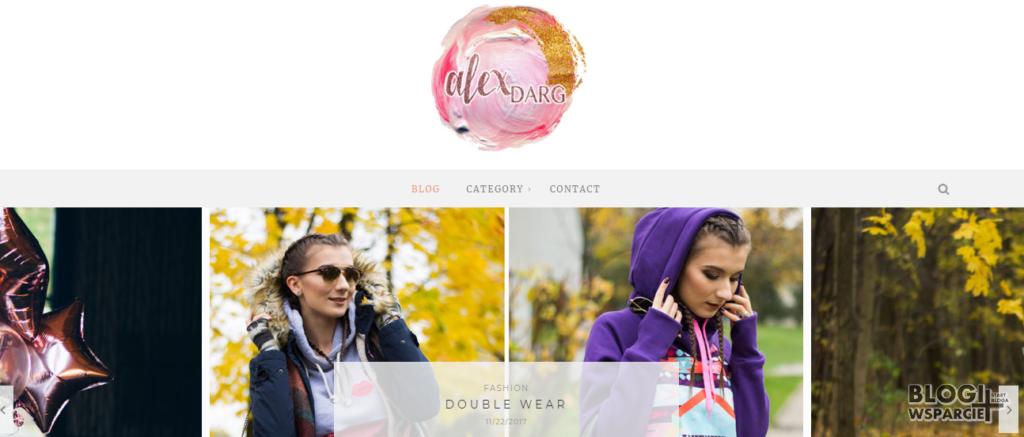 Alex Darg - blog modowy z Białegostoku