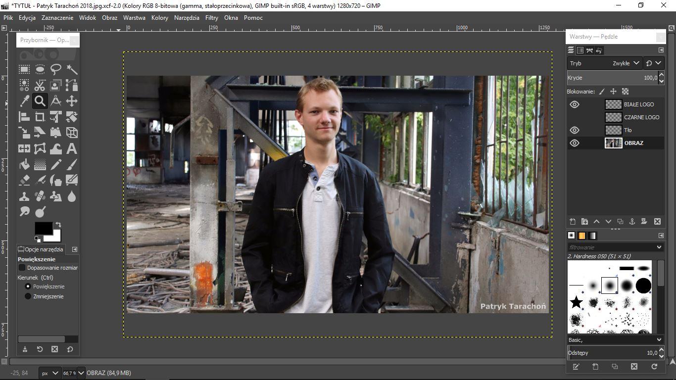 fot. Patryk Tarachoń - GIMP 2.10.6