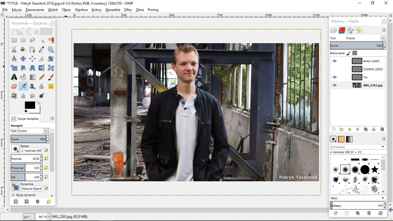 fot. Patryk Tarachoń - GIMP 2.8