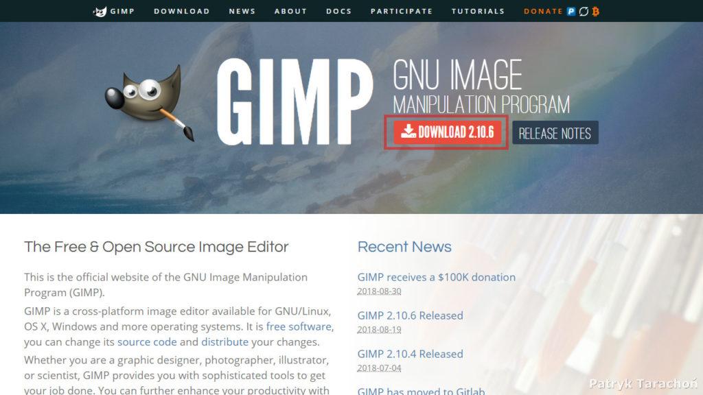 fot. Patryk Tarachoń - GIMP.org