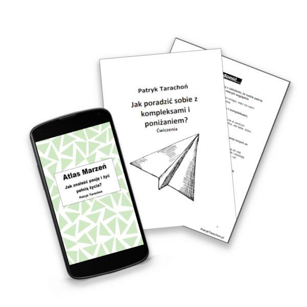 """Zestaw obejmuje eBook z ćwiczeniami: ,,Przygotuj się na Start + Jak poradzić sobie z poniżaniem i kompleksami""""!"""
