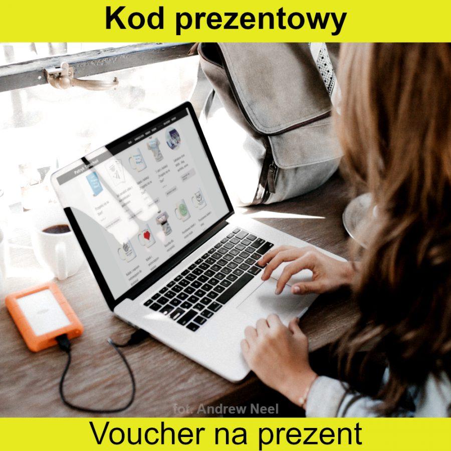 Karta podarunkowa na dowolne produkty w sklepie! Voucher, jest najlepszym pomysłem na prezent, jeśli nie wiesz, co kupić bliskiej osobie!