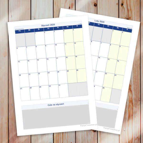Szukasz kalendarza do wydrukowania, aby rozplanować nowy rok kalendarzowy? Zorganizuj swój czas lepiej pobierając kalendarz do pobrania, zupełnie za darmo!