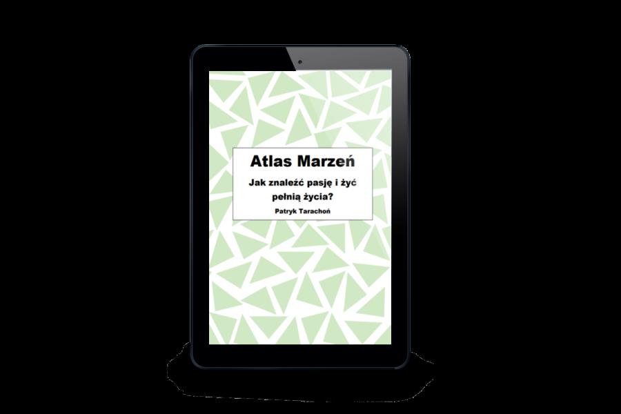""",,Atlas Marzeń. Jak znaleźć pasję i żyć pełnią życia?"""" jest zbiorem zainteresowań, marzeń oraz dyscyplin sportowych, spośród których każdy może wybrać określone pasje dla siebie."""