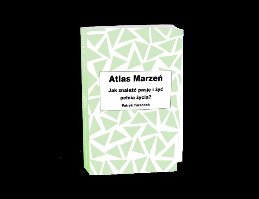""",,Atlas Marzeń"""" zawiera listę zainteresowań, pasji i marzeń, których możesz się podjąć. Książka powstała z myślą o osobach, które szukają pomysłu na siebie, chcą spróbować czegoś nowego, mieć zajęcie na czas wolny lub sprawdzić się w nowych dziedzinach."""